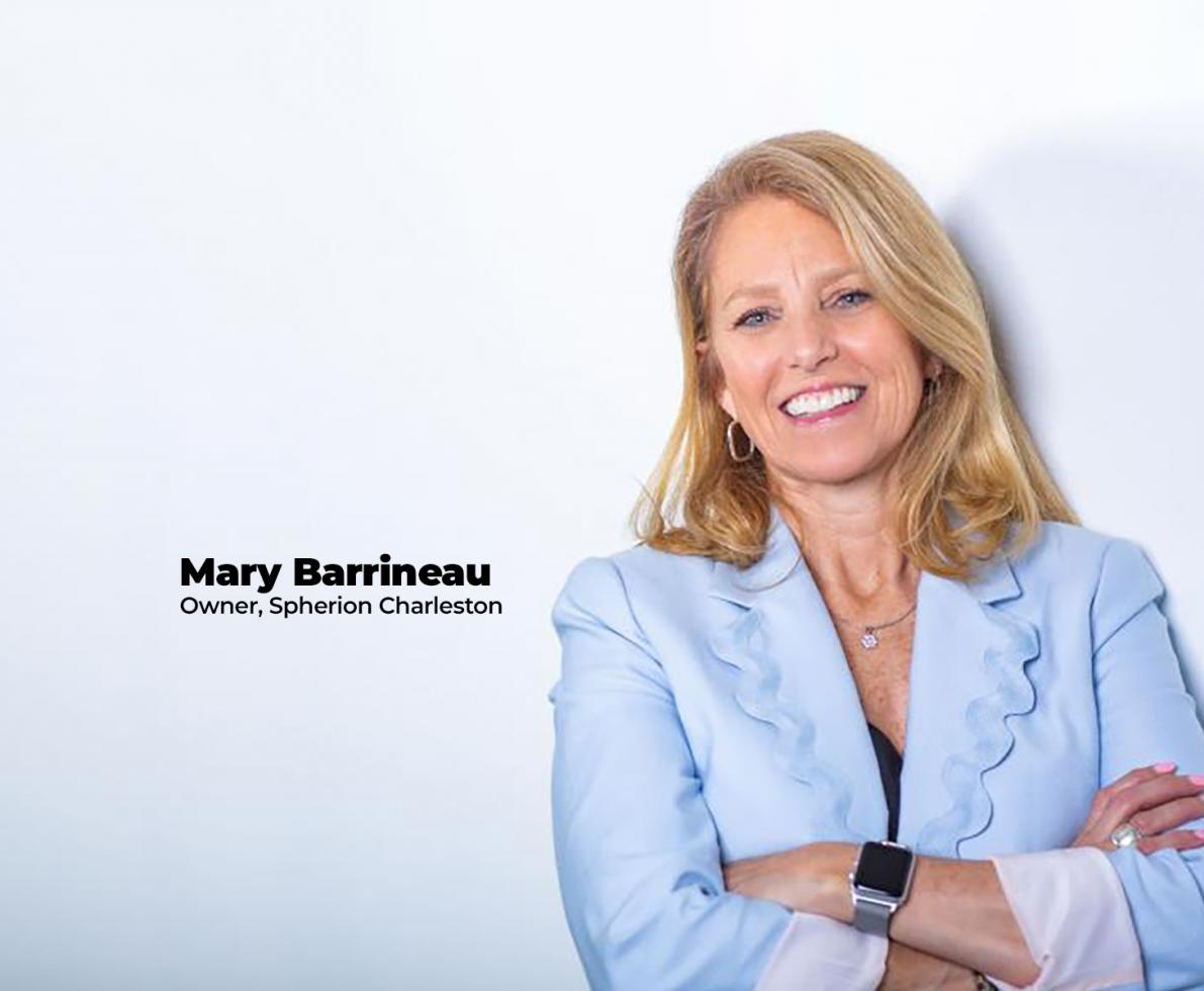 Mary Barrineau Spherion Owner